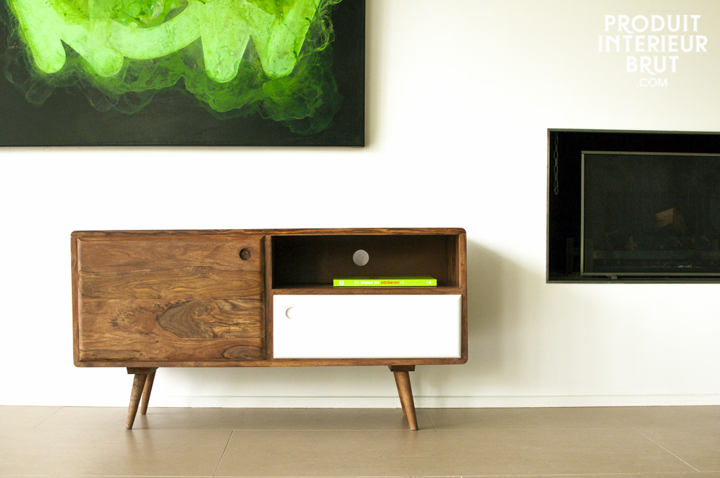 Meuble TV au design scandinave